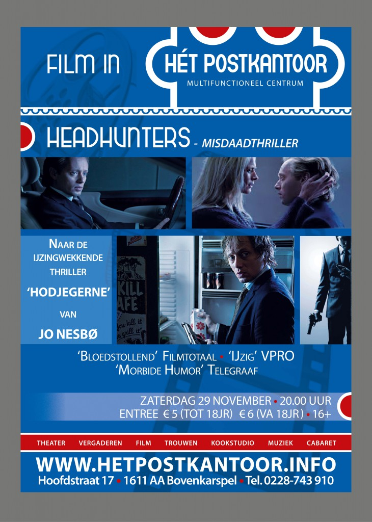 Filmposter Headhunters