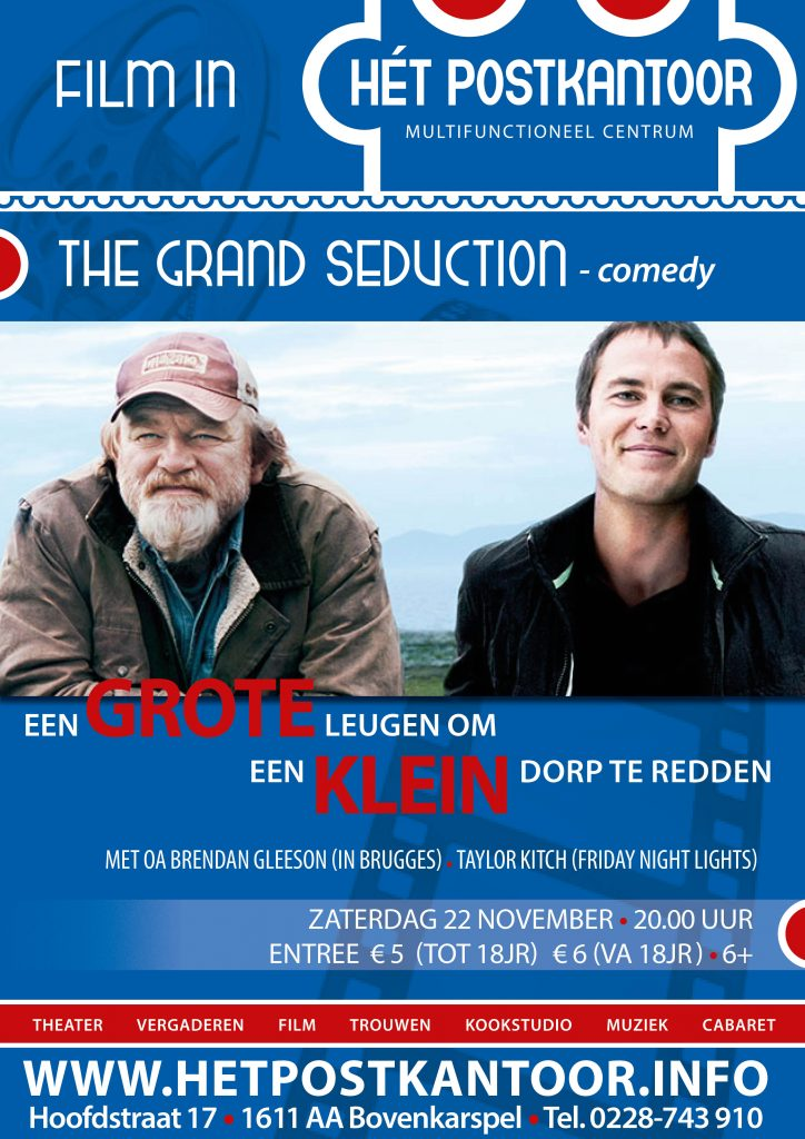 Filmposter The Grand Seduction